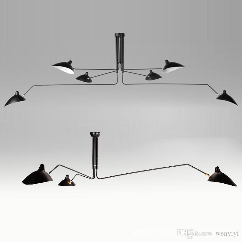 Serge Mouille Kolye Işıkları Lamba Armatür Hanglamp Örümcek Ev Dekor Yemek Odası Mutfak Bar Aydınlatma Için Işık Fikstür