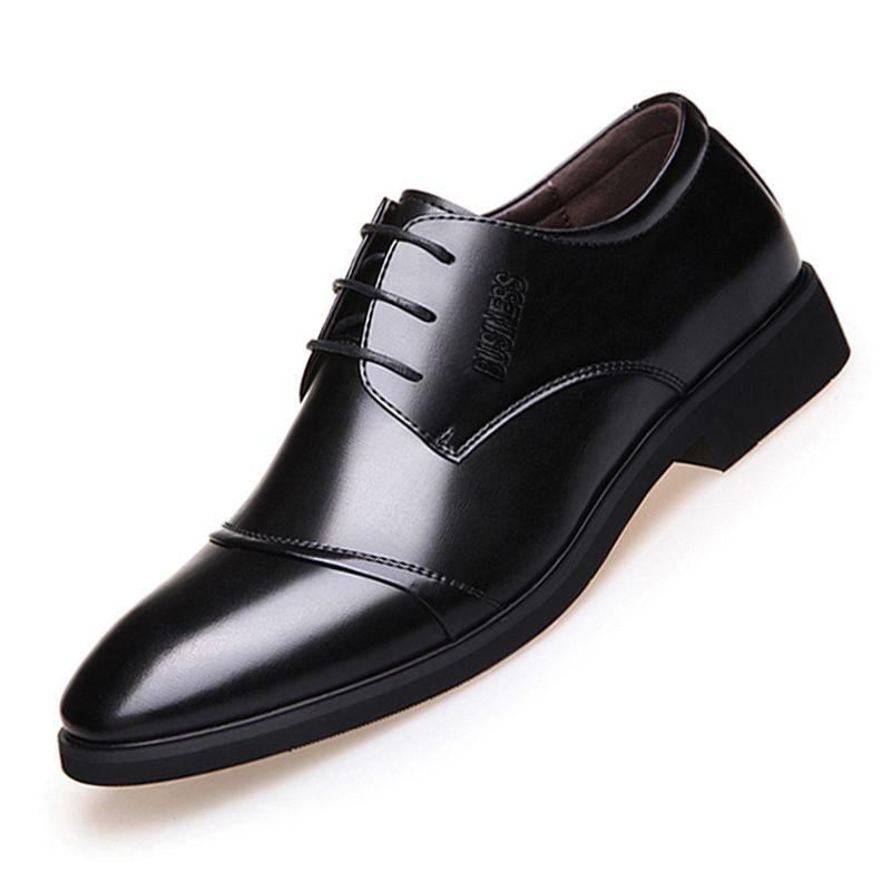 Compre Nuevos Zapatos Para Hombre Que Venden Zapatos De Alta Calidad. Piel Formal Para Hombre. Punta Para La Cabeza. Malla De Cuero Brillante. Zapatos