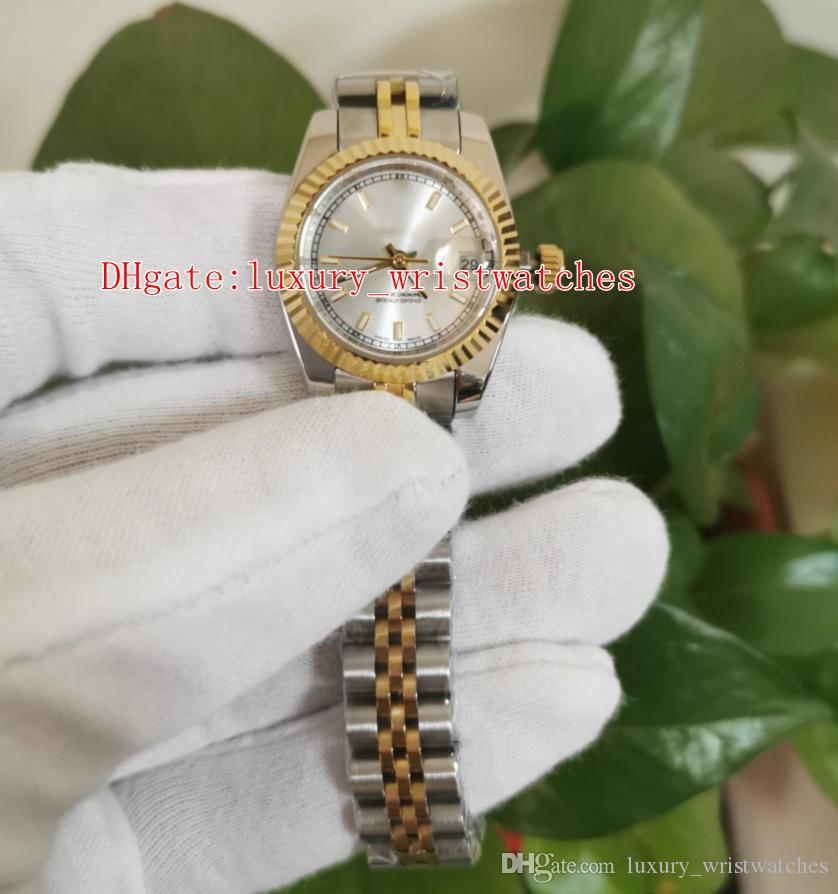 Relojes de pulsera de moda 26mm 31mm 36mm 116233 116234 Fecha 18k Oro Dos tonos jubileo 2813 Reloj mecánico automático para mujer Relojes para mujer