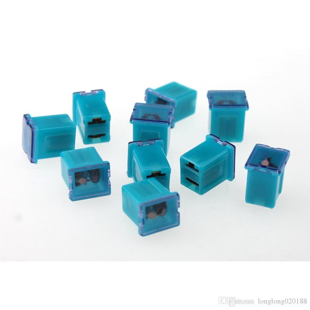 10 piezas terminales 12V-58V AUTO femeninas Mini PAL fusible para coche automático BARCO
