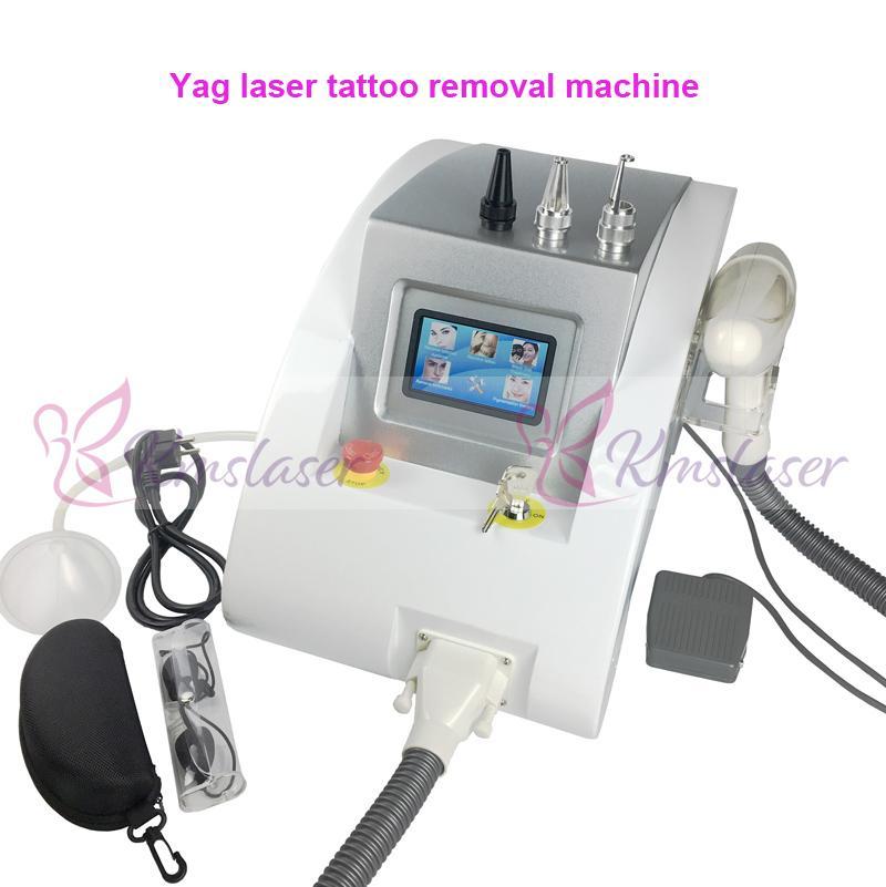 1064nm 532nm Q Switched Nd Yag Laser rimozione del sopracciglio del tatuaggio pigmento macchina acne cicatrice di rimozione