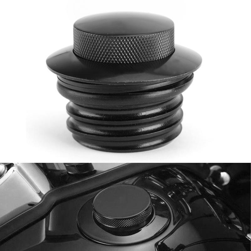 tapa de gas con ventilaci/ón Tapa de gas para motocicleta Artudatech rosca derecha para Harley Sportster XL 1982-2010