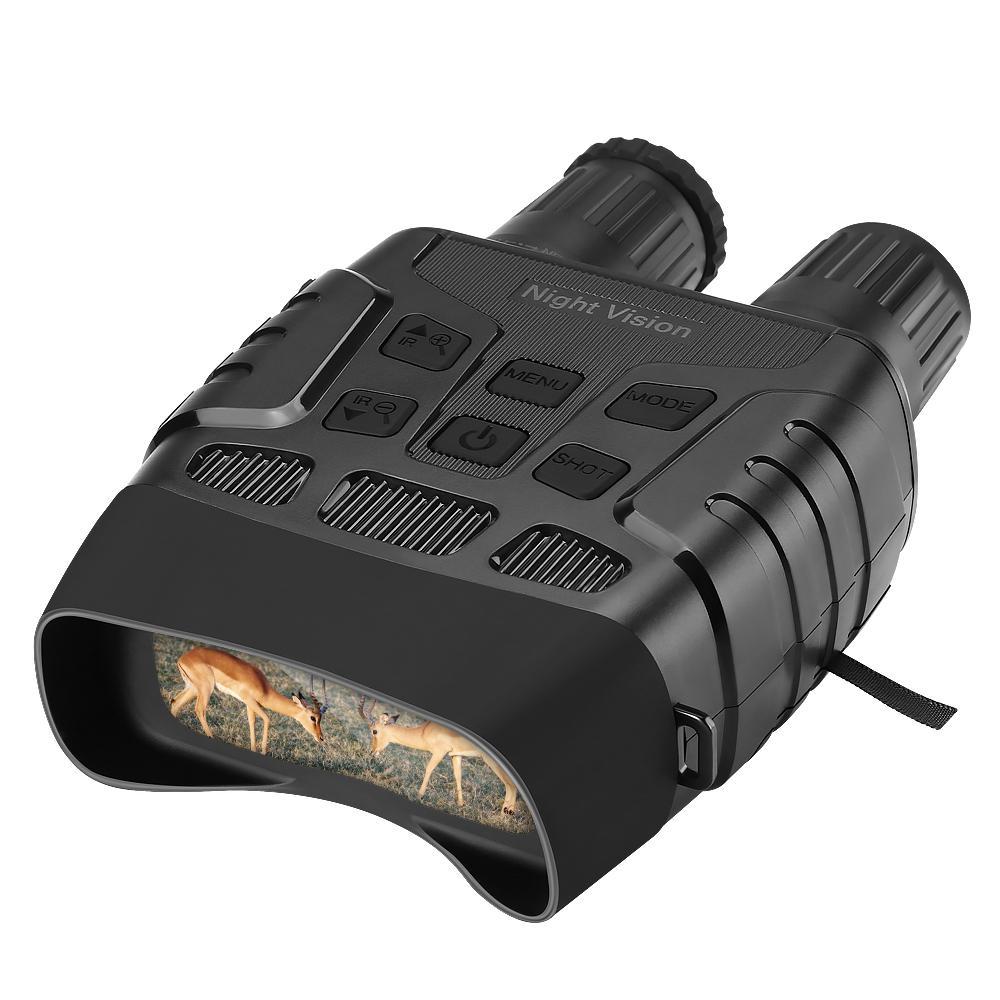 Tam Karanlık 4x zoom 720P Video BekinTek Su geçirmez Gece görüntülerin dürbünleri Teleskop Kızılötesi Av Cihaz 300m Gözlem Mesafe