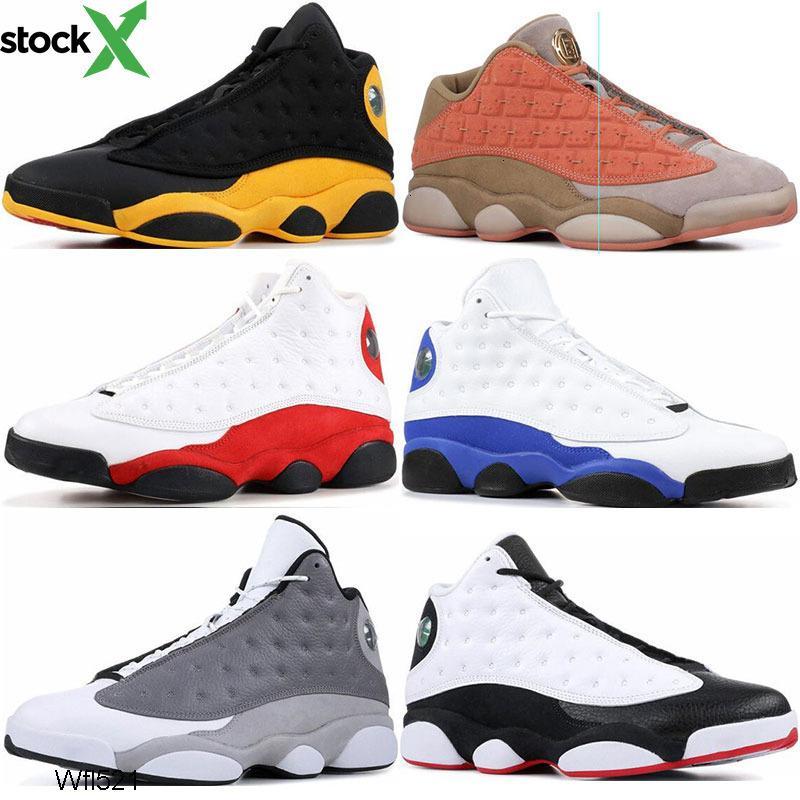 A buon mercato Mens Scarpe Da Basket 13 s gatto nero atmosfera grigio coagulo di Terracotta bred chicago mens scarpe da ginnastica sport sneaker shoes size 7-13