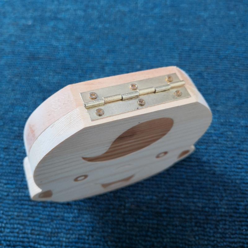 Baby Laub-Box aus Holz Baby Tooth Box Organisatoren Englisch Zähne speichern Junge Mädchen Nabelschnur Erhaltung Souvenir