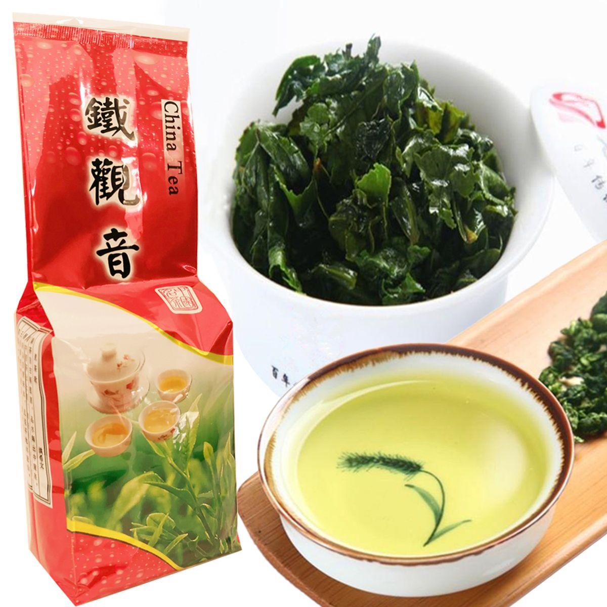 Preferências 250g Organic Chinese Tea Oolong Destaque Saúde Top Grade Anxi Tieguanyin Chá Oolong verde New Spring Green Tea Alimentos