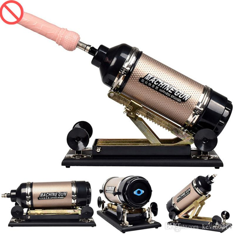 Automatic Retractable Sex Machine with Smoth Anal Dildo Thrusting Massager Love Masturbation Machine Sex Gun Toys for Women E5-1-64