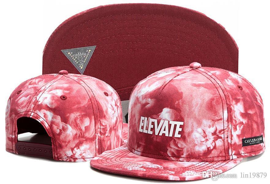 Fashion Cayler & Sons ELEVATE GALAXY Snapback hats Adjustable Gorras Hip Hop Casual Baseball Caps for Men Women Bone