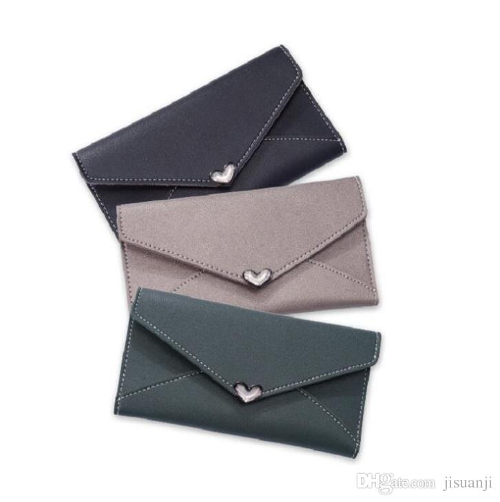 New Women Wallet Long Large Capacity Multifunction Clutch Simple Coin Purse Phone Case Coin Purses Wallets