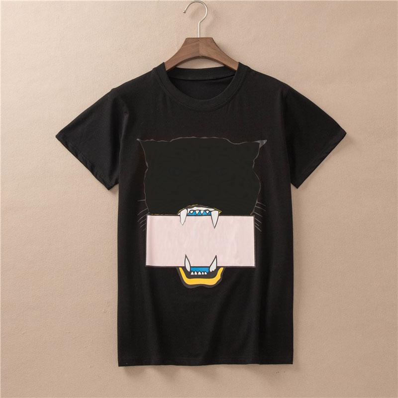 T-shirt da donna T-shirt stampata Ultima moda donna estate stampata T Shirt Desing Proprietà Camicie creative Stile Donne Tee