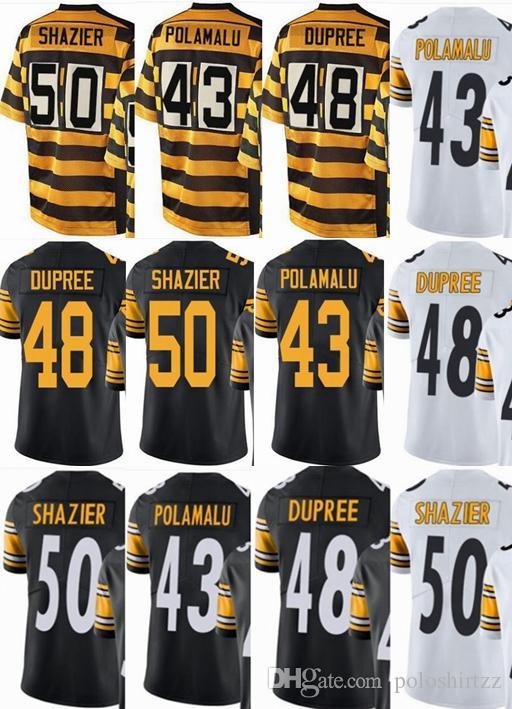 watch 02125 328a0 2019 Pittsburgh Custom Steeler Men/Youth/Women#43 Troy Polamalu 48 Bud  Dupree 50 Ryan Shazier Vapor Untouchable Limited/Rush/Elite Jerseys From ...