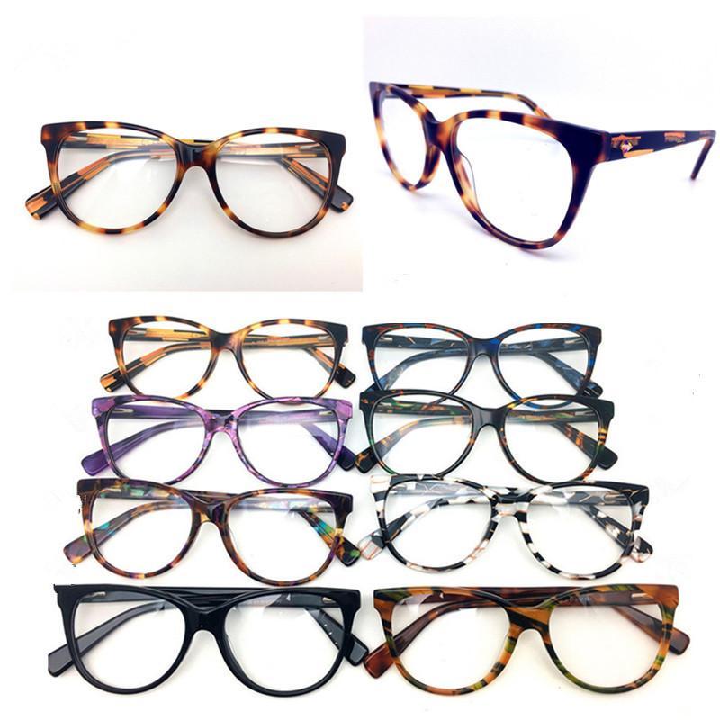 الرجال إطارات أعلى جودة العلامة التجارية الجديدة تصميم بصري أزياء المرأة خمر خلات نظارات النظارات بلانك نظارات إطار نظارات نظارات H0035
