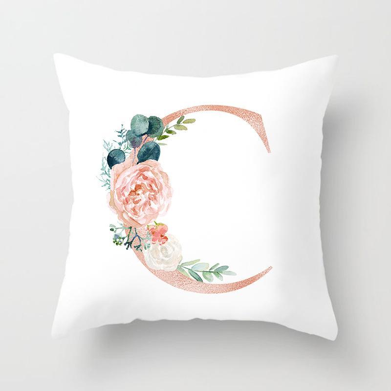 nuove lettere di moda di lusso cuscino cuscino copertura del cuscino copridivano modello di casa cuscino tiro