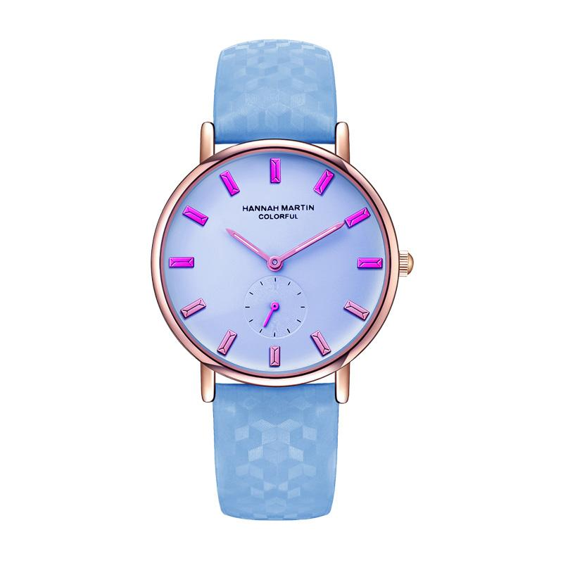 Nuovo orologio creativo che cambierà i colori sotto il sole Moda orologio da polso da donna UV impermeabile di lusso colorato orologio da donna 790
