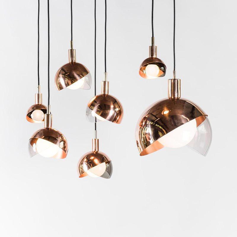 cucina moderna pendente globo lampada luce palla appesa e27 lampada nordico salone sospensione lucentezza