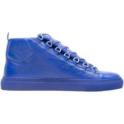 Luxo Arena sapatilha homens sapatos de designer formadores vincado couro Lace-up corte baixo sapatos de alta qualidade Marca Flats 100% couro genuíno com a caixa