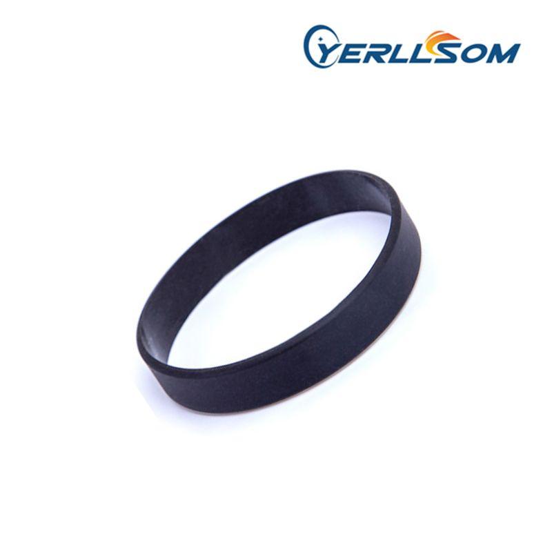 YERLLSOM 100 шт. / лот высокое качество Блэк спорт силиконовые браслеты для promontional подарки BK001