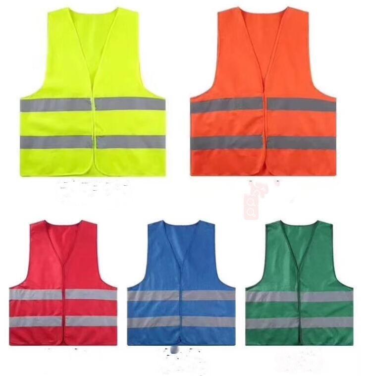 Haute sécurité de visibilité gilet réfléchissant Stripe vestes de circulation pour Éboueur adjoint de la police Vêtements de travail LXL1153-1