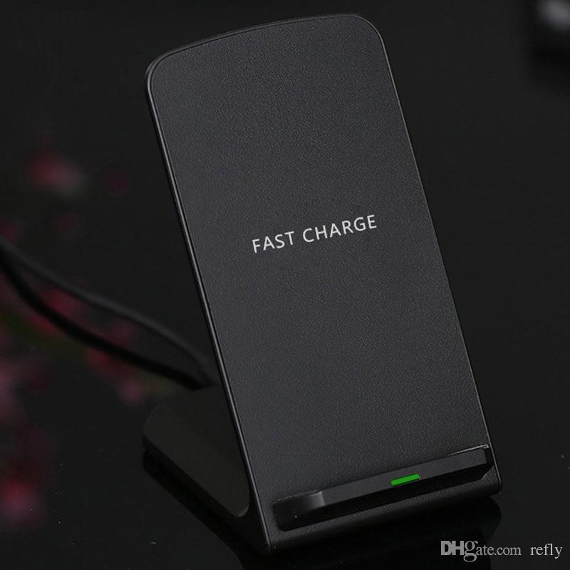 Q740 Hızlı Kablosuz Şarj Soğutma Fanı ile Yükseltme Taşınabilir 2 Bobinler Hızlı Kablosuz Şarj iPhone XS için Standı Max