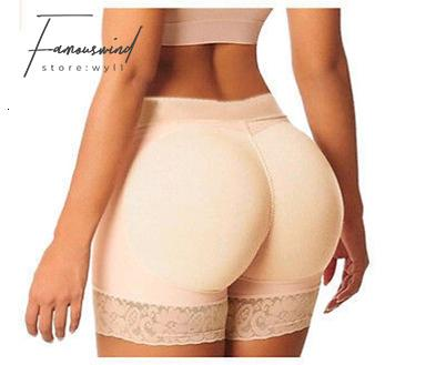 Donne Sexy Body Shapers Donne Butt Lifter Butt Enhancer Body Shaper Butt Booty Lifter Con pancia Controllo Mutandine Plus Size