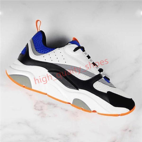 Dior B22 Shoes тапки мужские Дизайнерская обувь марочные кроссовки Холст и телячьей Тренеры Luxury Unisex Low Top Повседневная обувь 20color hococal