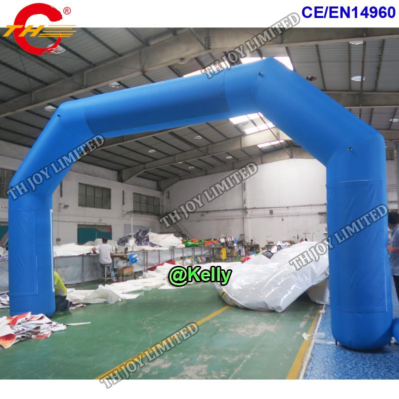 free door shipping oxford fabric cheap inflatable arch for sale, race competition inflatable archway start finish line