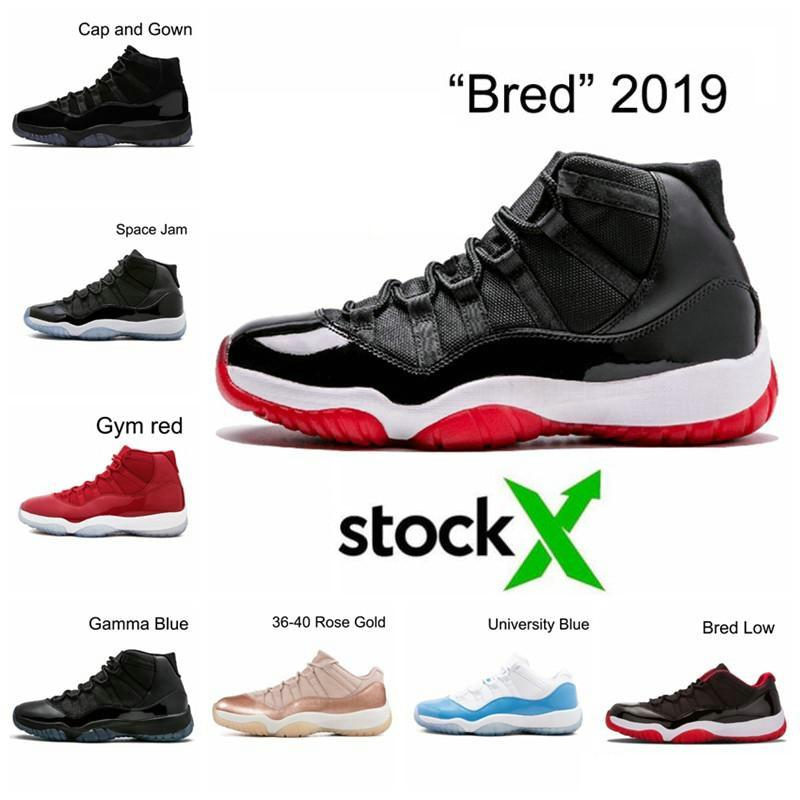 with box 2020 release newest arrivals low white bred concord gym red 11 basketball shoes men women concords cool grey sneakers free shipping