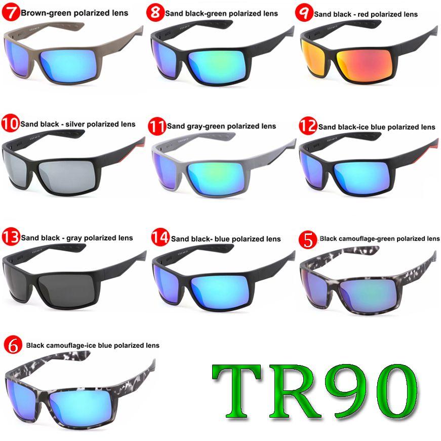 2019 النظارات مصمم العلامة التجارية الفاخرة النظارات الشمسية المستقطبة TR90 الشمس رجال نساء التزلج نظارات الصيد نظارات 580P عالية الجودة