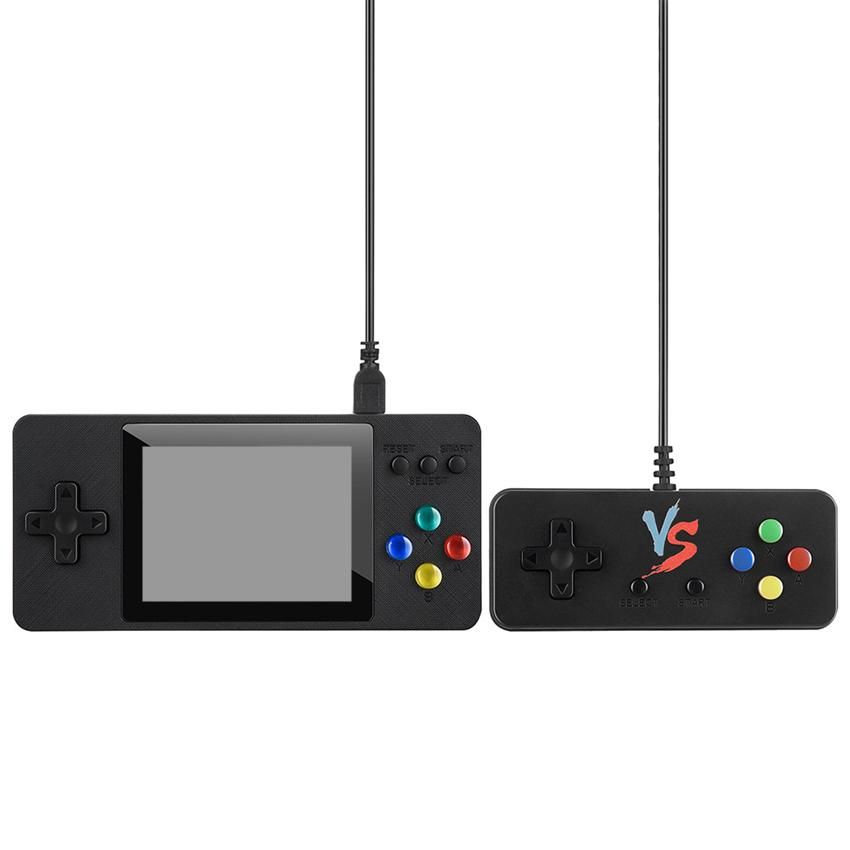 New K8 K5 VS SUP PXP3 PVP PAP GB NES Video Game Console Mini Portable Handheld Game Box Pocketgo 500-in-1 Arcade Play Handheld Game Players