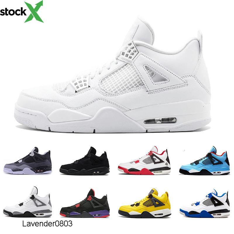 Whosale 4 Cool Gris 4s Chaussures de basket-ball respirer Hommes Chaussures De Course Noir Chat New Bred hommes formateurs Sport Sneakers