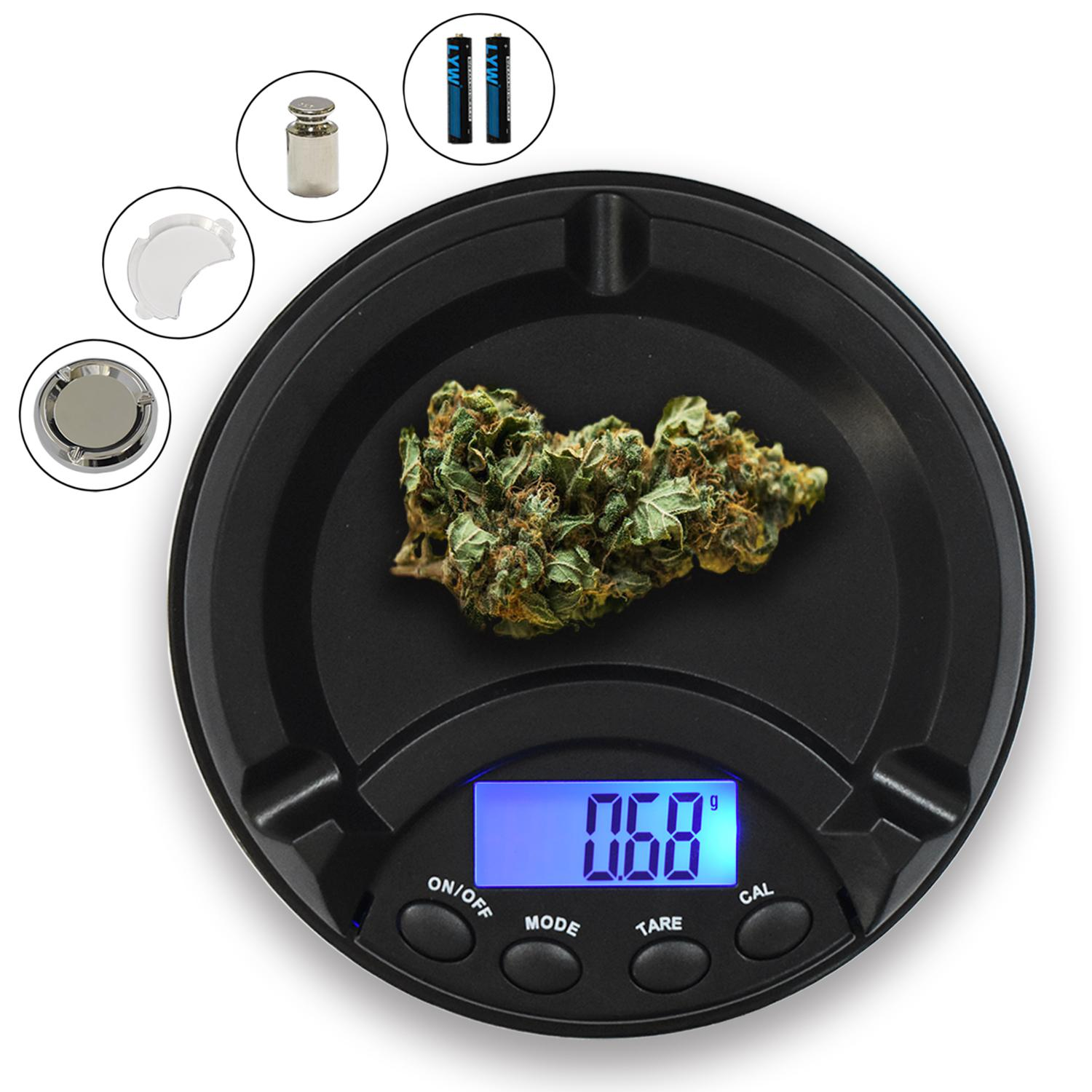 2020 Digital Pocket Scale Ashtray Scale With 50g ...