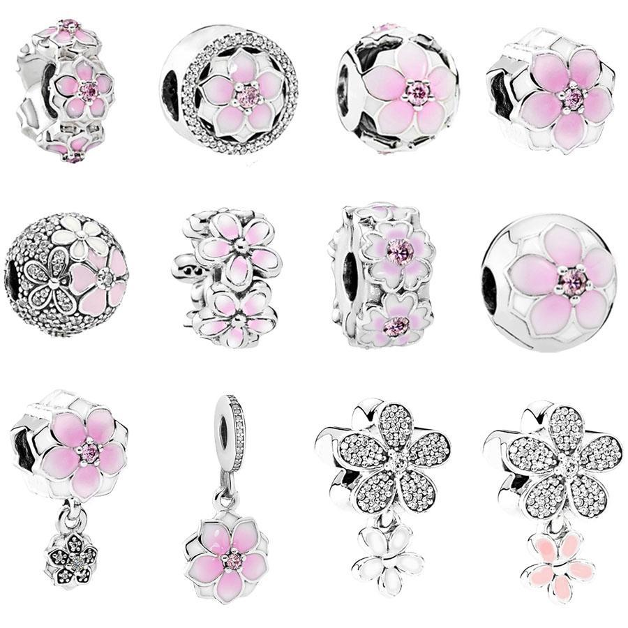 pandora charm fiore di magnolia