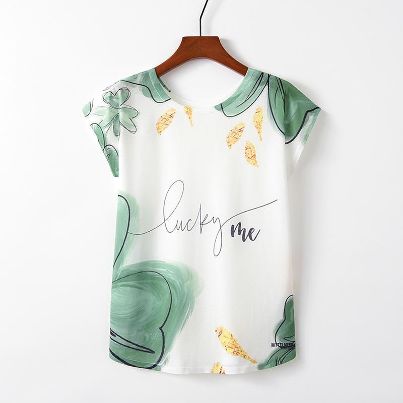 2020 Новая летняя мода Harajuku печать футболка с короткими рукавами хлопок повседневная свободная футболка женская одежда