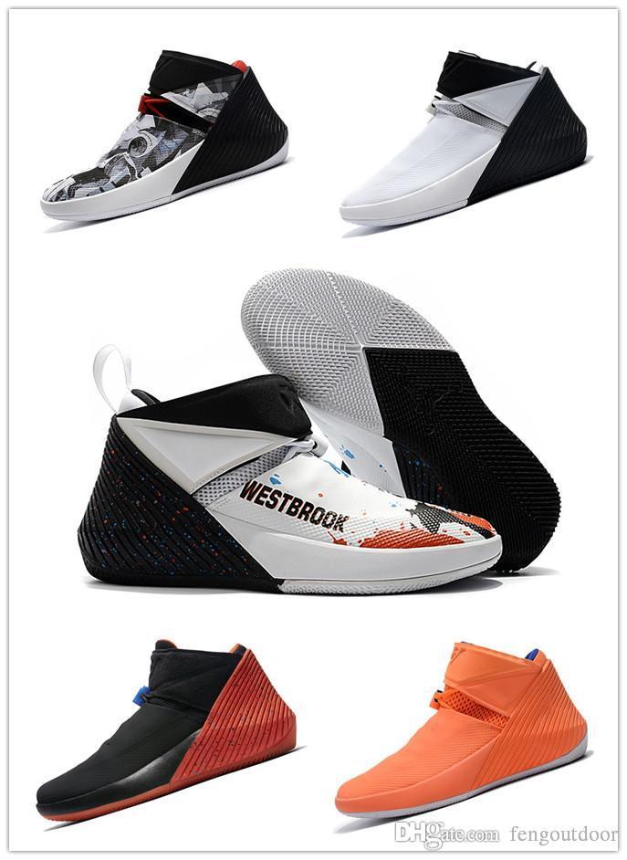 2019 HABERLER Russell Westbrook Neden Zer0.1 George Adams Ayna Görüntü Değil Kuzey Carolina Basketbol Ayakkabıları Erkekler için Sıfır 1 Spor Tasarımcısı Sneakers