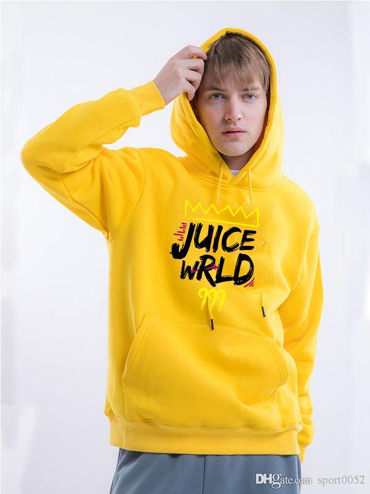 Толстовка Juice Wrld Hoodie пуловеры Мужчины Женщины KPop Hoodies Hip поп-фаны рубашка Hombre траур теплый рэп одежда для подростков