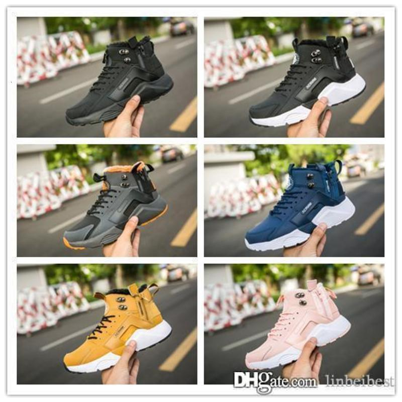 New Airs Huarache 6 X Acronym City MID Leather High Top Huaraches Run Mens Women Trainers Running Shoes Designer Sneakers Size 5.5-11