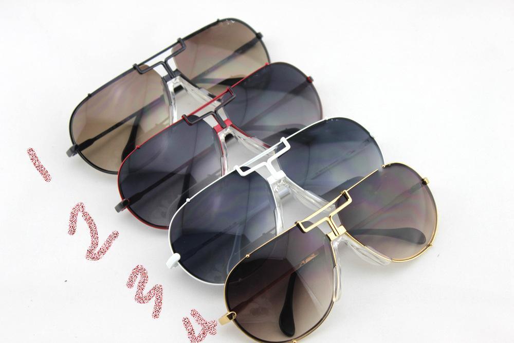 óculos de sol adultos prancha quadro retro eyewear 901 Resina lente high-end personalizado UV400 dos homens Óculos de sol caixa de embalagem original summerglass condução
