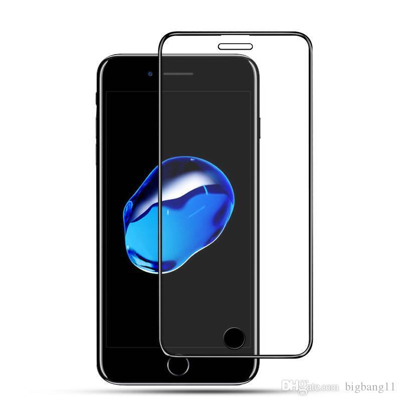 Хорошее качество Для iPhone XS MAX XR X 6/7/8 плюс 9Н Закаленное Стекло-пленка Протектор экрана горячее надувательство