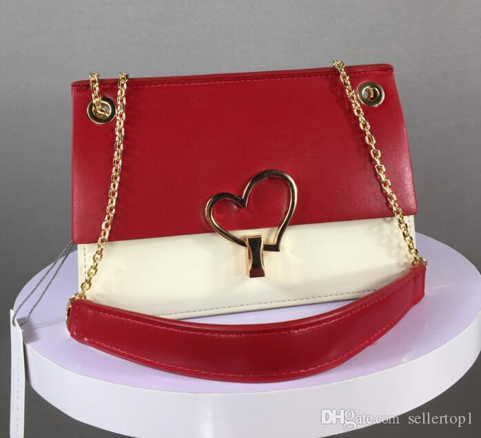 Üst Kalite Ünlü kadınlar tasarımcı omuz çantası deri zincir çanta Çapraz vücut Womens çanta crossbody çanta çanta seviyorum