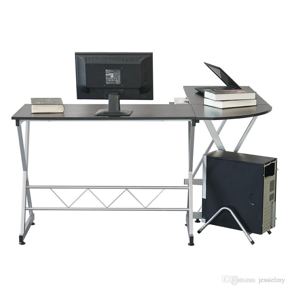 - Großhandel Moderne L Förmig Desk Corner Computer PC Latop Studie