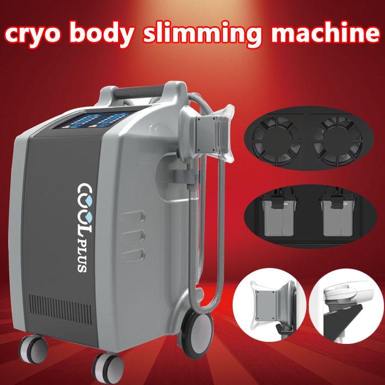 2019 dernières machines fraîches de retrait de cellulites machine de congélation de graisse de Cryolipolysis machine de refroidissement fraîche de graisse amincissant la machine 2 de Cryolipolysis