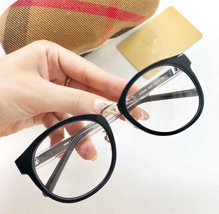 أحدث الجودة BE2259-O نظارات كبيرة حافة إطار 55-16-145 الكلاسيكية النظارات الطبية منقوشة مع حالة تعيين كامل