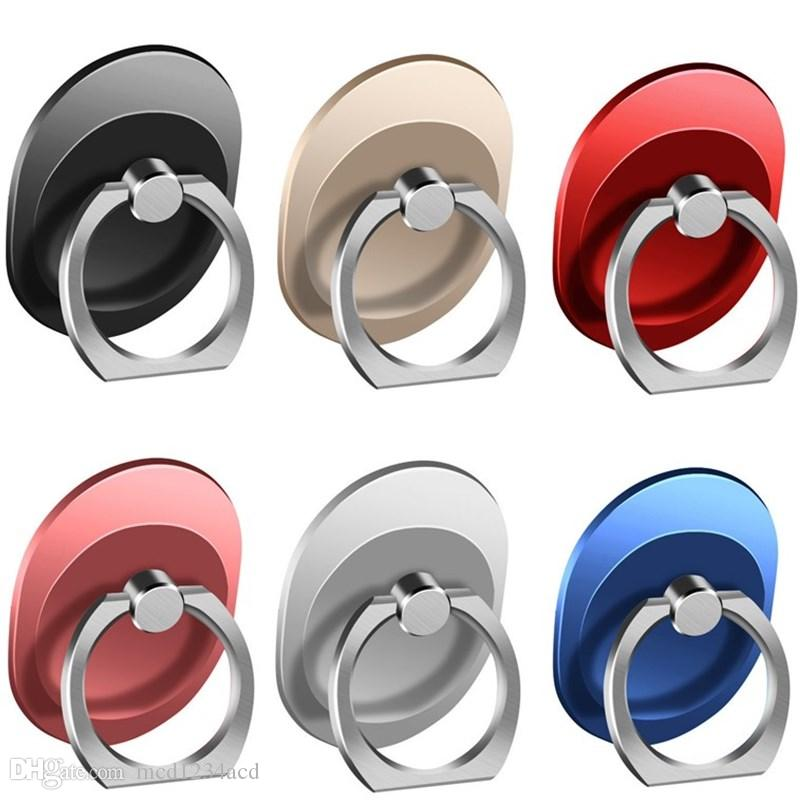 Universal Finger Ring Mobile Phone Smartphone Stand Holder 360 Degree Stents For smart phones