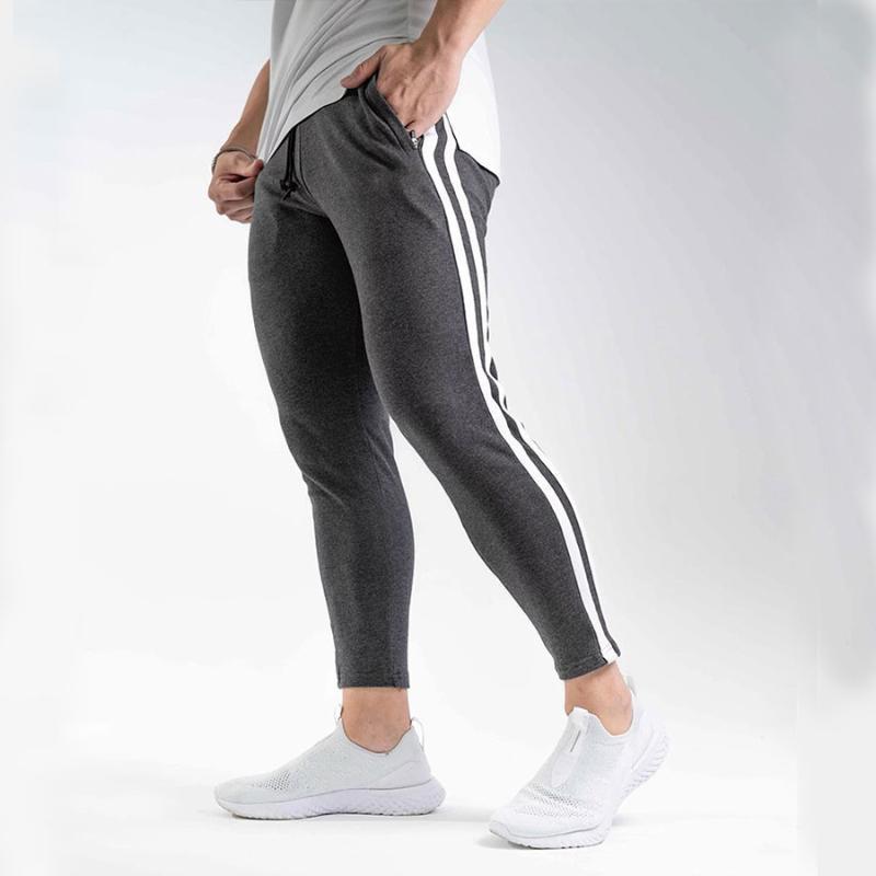 New Mens Sports Fitness Gym Plain Jogging Slim Fit Bottoms Sweat Pants Joggers