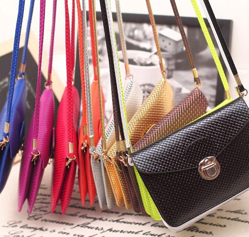 Button Coin Leather 3pc Clutch Wallet Girl Pu Purse Handbag Mini Cross-body Bag Phone Case Messenger Bag