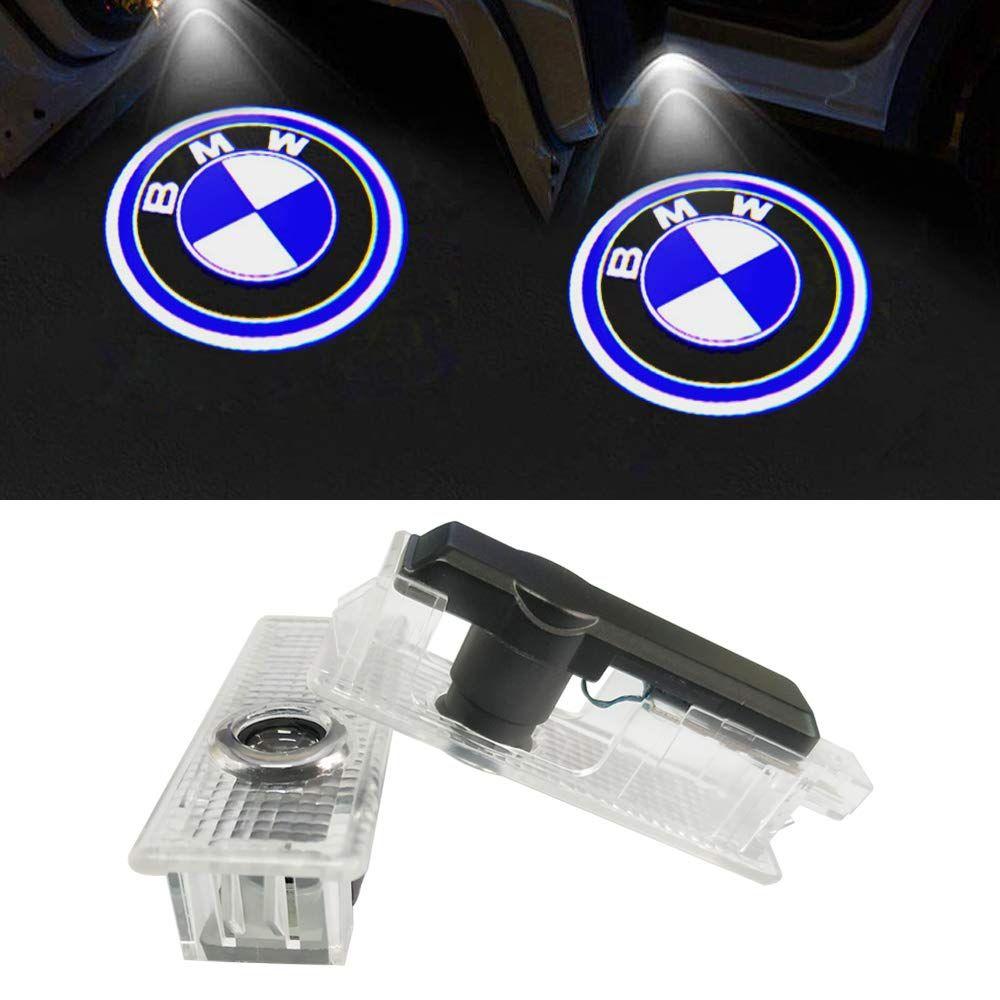 2pcs inalámbricos para Coche luces del proyector de luz fantasma sombra Bienvenido luz de la lámpara para BMW
