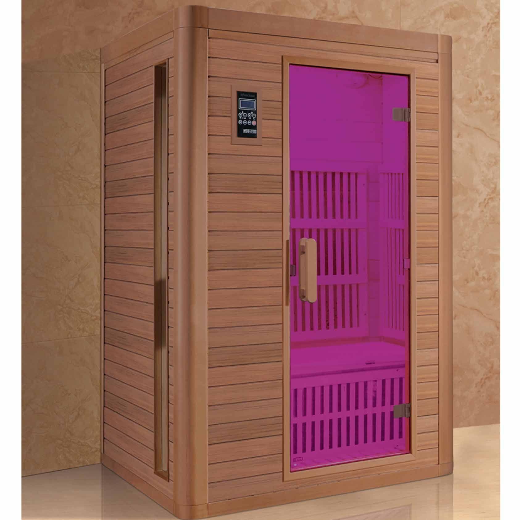 Holz-Saunaraum Saunathermometer Hygrometer-Raum Gesundheitsbad Ferninfrarot Gesundheitsmassage Aerobic-Raumheizung Badmöbel