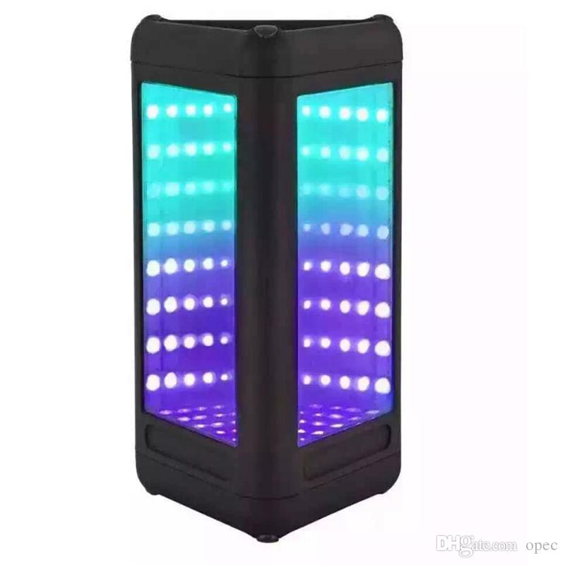 2019 vendita calda altoparlante bluetooth lampada LED altoparlante subwoofer colorfull wireless blu profondo subwoofer stereo mini altoparlanti portatili