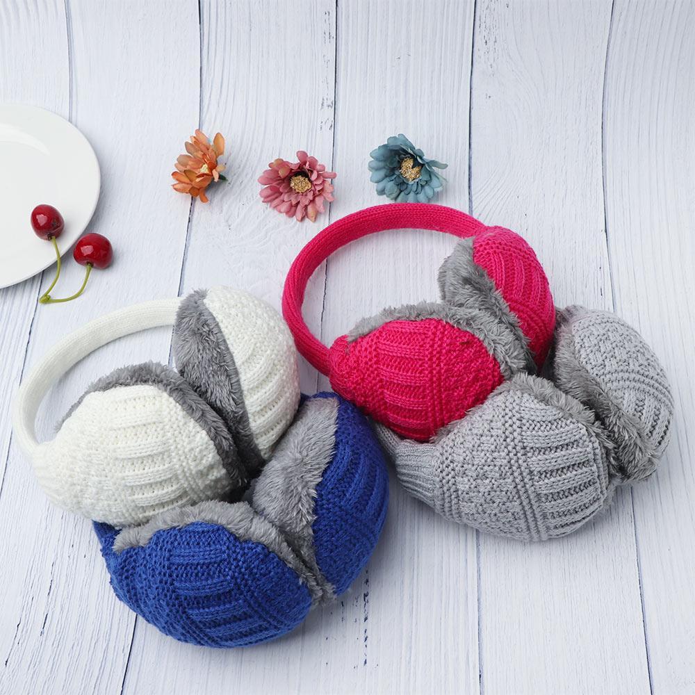 Women Warm Kint Earmuffs Earwarmers Earlap Warmer Headband
