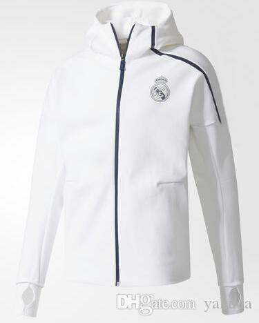 Top cheap ZNE Hoodie Z.N.E HOODIE Men's Soccer Tracksuits Hooded windbreaker Jacket Uniforms kits Sports Uniforms jersey Tracksuit Football